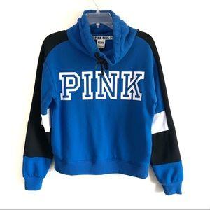Pink VS oversized funnel neck sweatshirt oversized